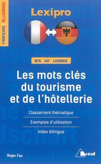 Les mots clés du tourisme et de l'hôtellerie : français-allemand