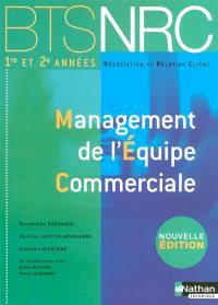 Management de l'équipe commerciale : BTS NRC 1re et 2e années