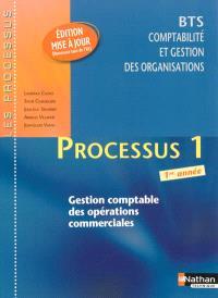 Processus 1 : gestion comptable des opérations commerciales : BTS comptabilité et gestion des organisations, 1re année
