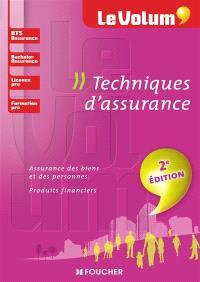Techniques d'assurance : BTS assurance, bachelor assurance, licence pro, formation pro