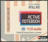 Coffret audio : anglais, BTS 1re année : 4 CD-Rom