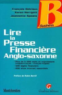Lire la presse financière anglo-saxonne