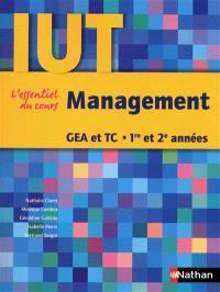 Management, GEA et TC, 1re et 2e années