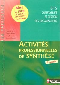 Activités professionnelles de synthèse, BTS CGO 2e année