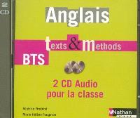 Anglais Texts & methods, BTS tertiaires 1 et 2