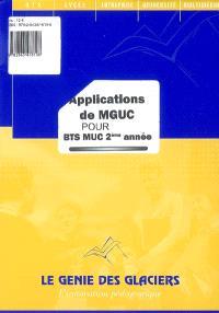 Applications de MGUC pour BTS MUC 2e année