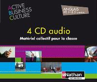 Coffret activité business : culture anglais BTS 1re & 2e années : 4 CD audio, matériel collectif pour la classe