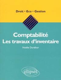 Comptabilité : les travaux d'inventaire