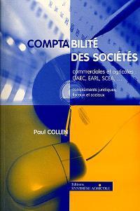 Comptabilité des sociétés commerciales et agricoles : tableaux synthétiques, schémas, applications sur tableur Excel : manuel et CD-ROM