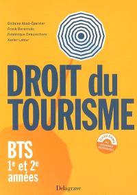 Droit du tourisme, BTS 1re et 2e années