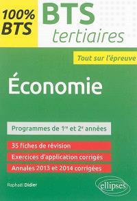Economie : BTS tertiaires, programme de 1re et 2e années : tout sur l'épreuve