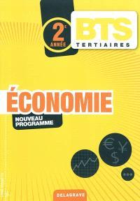 Economie, BTS tertiaires, 2e année : nouveau programme