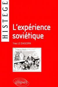 L'expérience soviétique