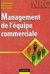 Management de l'équipe commerciale : BTS NRC