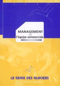 Management de l'équipe commerciale : pochette de l'élève