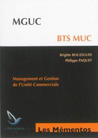 MGUC, BTS MUC : management et gestion de l'unité commerciale
