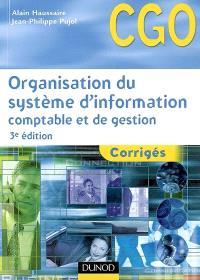 Organisation du système d'information comptable et de gestion : corrigés : processus 10