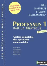 Processus 1 par la pratique : gestion comptable des opérations commerciales : livre d'élève
