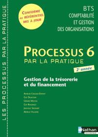 Processus 6 par la pratique : gestion de la trésorerie et du financement : livre détachable de l'élève