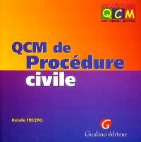 QCM de procédure civile