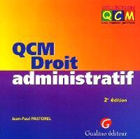 QCM droit administratif