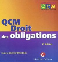 QCM droit des obligations