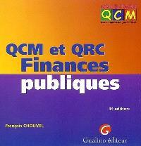 QCM et QRC finances publiques