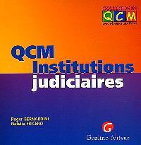 QCM institutions judiciaires
