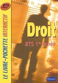 Droit BTS 1re année : livre de l'élève