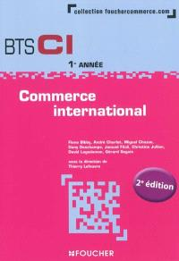 Commerce international, BTS CI 1re année
