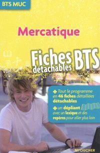 Mercatique : BTS MUC : fiches détachables