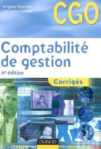 Comptabilité de gestion : corrigés : Processus 7 : détermination et analyse des coûts