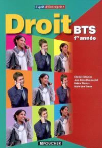 Droit BTS 1re année