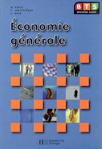Economie générale BTS deuxième année