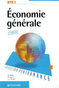 Economie générale, BTS 1