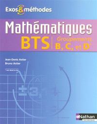 Mathématiques, BTS groupements B, C et D