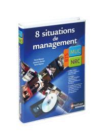 8 situations de management en BTS MUC et NRC