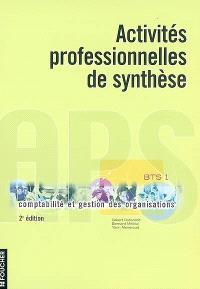 Activités professionnelles de synthèse : BTS 1