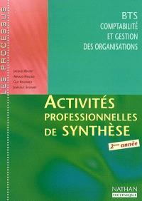 Activités professionnelles de synthèse : BTS CGO 2ème année