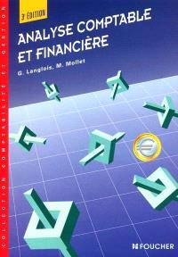 Analyse comptable et financière