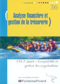 Analyse financière et gestion de la trésorerie, BTS 2e année comptabilité et gestion des organisations