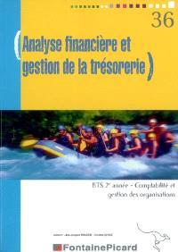 Analyse financière et gestion de la trésorerie, BTS comptabilité et gestion des organisations, 2e année