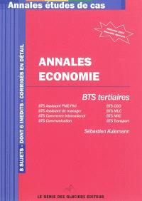 Annales d'économie : BTS tertiaire