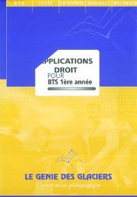 Applications Droit pour BTS 1re année