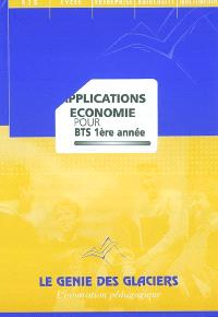 Applications Economie pour BTS 1re année