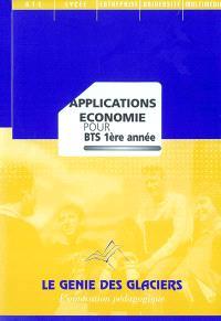 Applications économie pour BTS 1re année