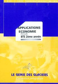 Applications économie pour BTS 2e année