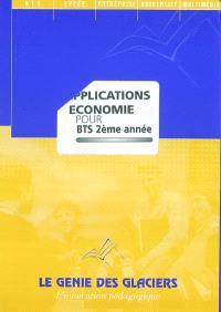 Applications Economie pour BTS 2ème année