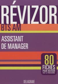 BTS assistant de manager