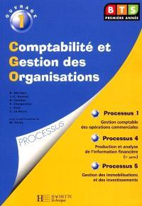 BTS comptabilité et gestion des organisations. Volume 1, Gestion comptable des opérations commerciales
